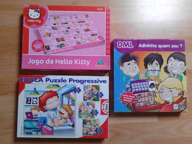 3 jogos de tabuleiro