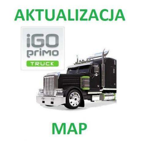 IGO Primo Truck - najnowsza mapa dla ciężarówek i autobusów 2020 Q4
