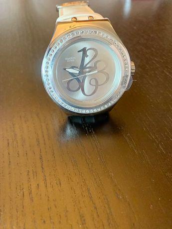 Relógio Swatch Irony Strass - Marfim - Novo (nunca usado)