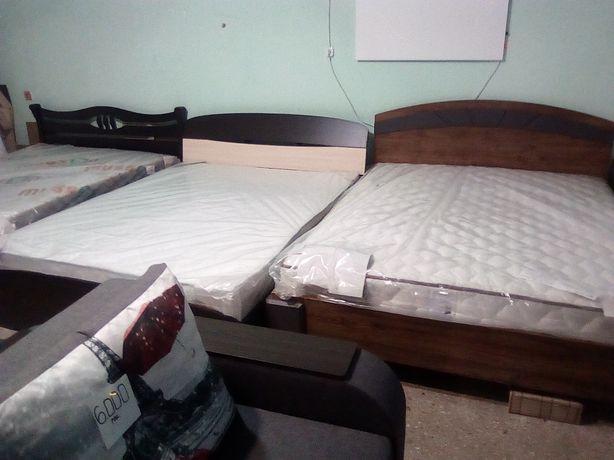 Продам кровати от 6500 с матрасом зима лето