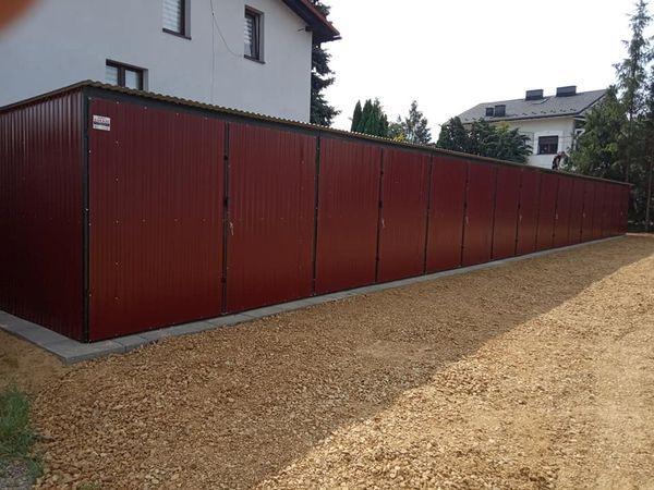 Produkcja garaży blaszanych blaszaków wiat domków garaże Biała