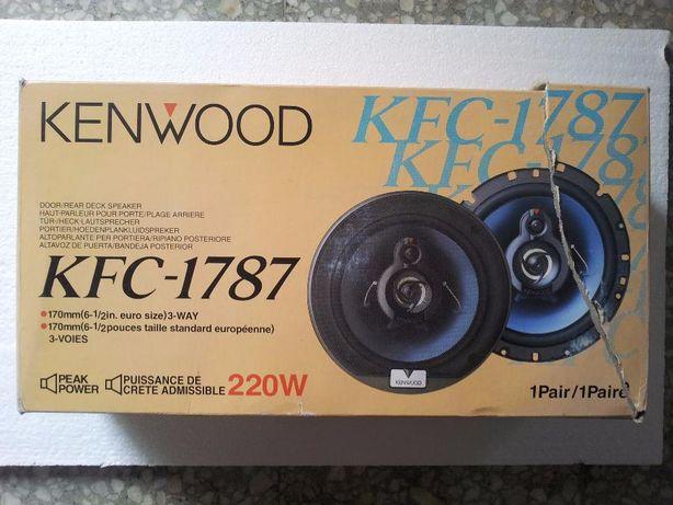 Colunas para carro Kenwood KFC-1787