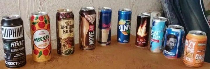 Баночки от разных газированных напитков Черноморск - изображение 1