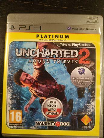 Uncharted 2 PS3 PL. Among Thieves. Gra w polskiej wersjijęzykowe.Ideał
