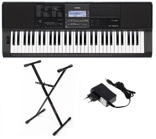 Keyboard Casio CT X800 statyw NOWY SKLEP WYSYŁKA w cenie 5lat gw