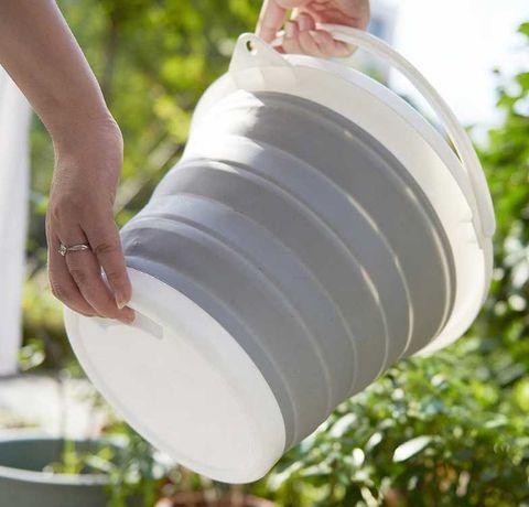 Ведро складное силиконовое для дома, отдыха, рыбалки, 10 литров