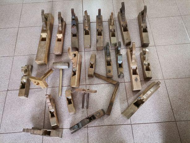 Plainas  madeira antigas