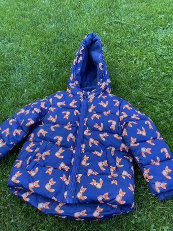 Куртка детская теплая 18-24 мес Rebel