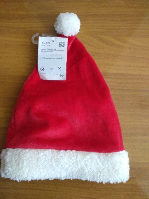 Новогодняя шапка для малышей Baby club от C&A из Германии, р-ры 62, 86 Киев - изображение 1