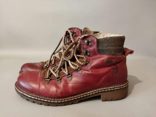 Кожаные женские ботинки Tamaris 41р