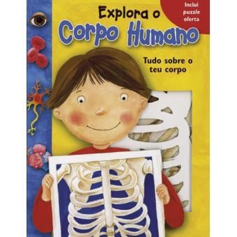 Explora o corpo humano livro/puzzel