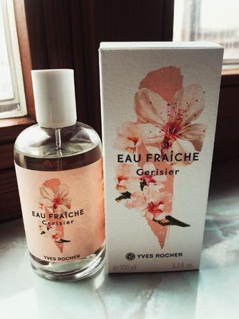 Духи оригинал Yves Rocher EAU FRAICHE Cerisier 100 ml