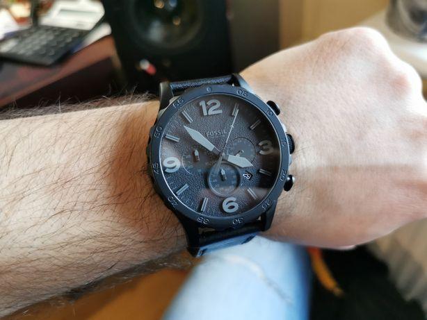 Zegarek Fossil Nate Casual Men JR1354 - jak nowy! Gwarancja!