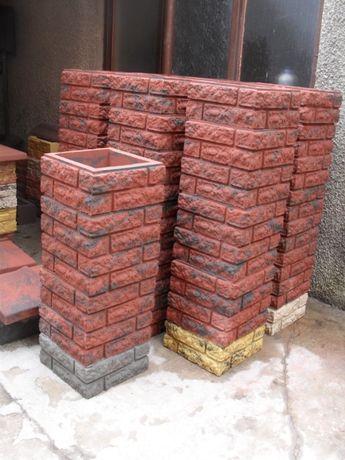 ogrodzenia betonowe słupki betonowe