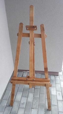 Sztaluga drewniana trójnożna malarska