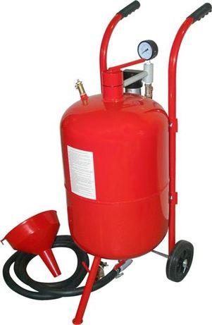 Maquina de jato de areia com deposito de 37 litros