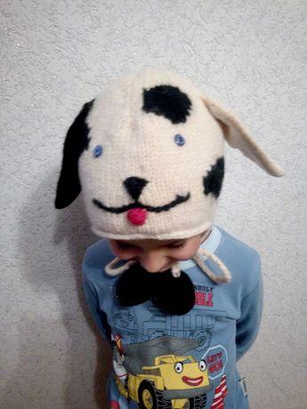 шапка - песик