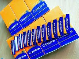 Бумага / папір для самокруток сигарет COLUMBUS