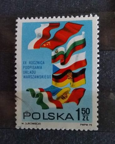 Filatelistyka Polska 1975