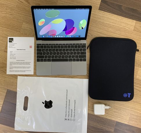 Apple MacBook 12'' Retina 2015, 8 гб, ssd 256 Space Grey Гарантия.