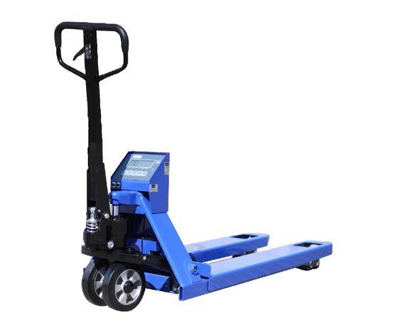 Paleciak z wagą KPZ 71-9. Ręczny wózek paletowy. Gwarancja 3 lata