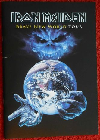 Iron Maiden Brave New World Tourbook