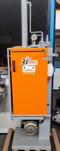 Prensa compactadora-Esmagador de latas de verniz Comap