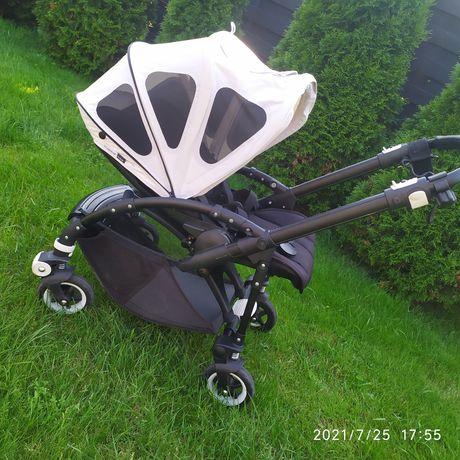 Wózek spacerowy Bugaboo Bee 5, 3 budki, pałąk, folia