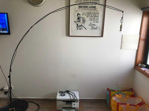 Candeeiro de pé, Arco, Preto Ikea (PVP €89,90) - Abajur não inc.