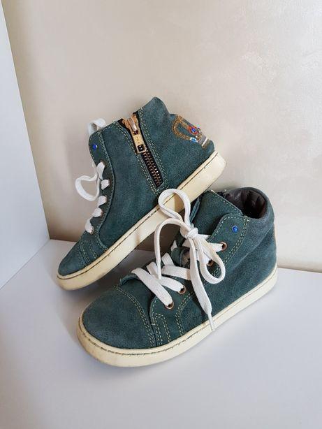 Фирменные демисезонные ботинки/кеды/полуботинки 29 р. 18 см стелька.