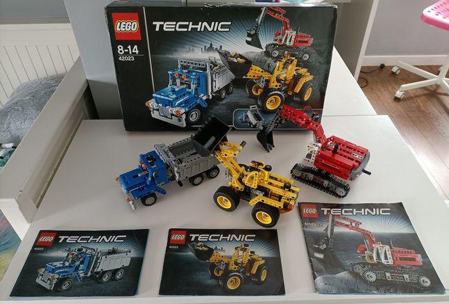 LEGO 42023 maszyny budowlane