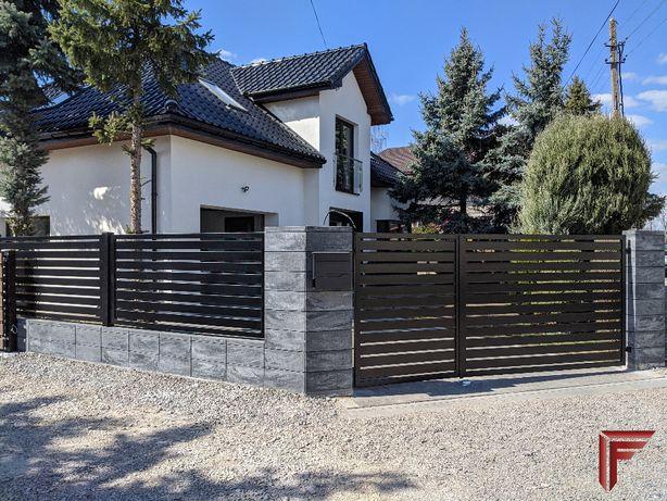 Bramy, ogrodzenia, balustrady, konstrukcje stalowe