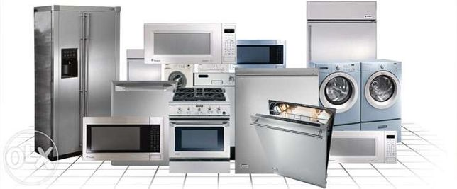 Assistência técnica e reparação de eletrodomésticos