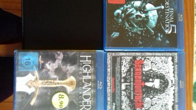 3 filmes em disco blue ray