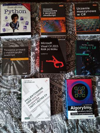 Książki do nauki programowania, informatyka, programowanie