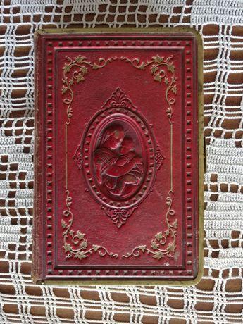 Książka do Nabożeństwa 1864 DUNIN stara antyk modlitewnik