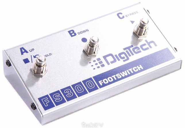 Педаль футсвитч Footswitch Digitech FS300 TC Electronic Helicon Voice