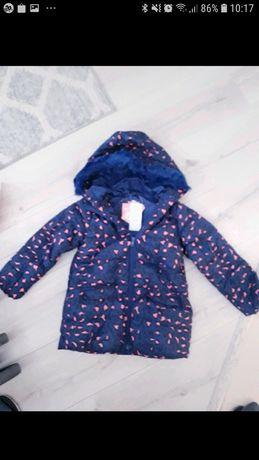 Nowa z metką kurtka na zimę dla dziewczynki young style rozm 98/104