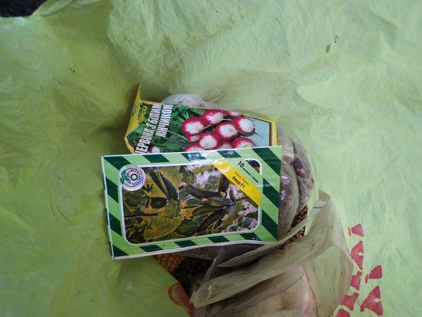 Ввідам семена пофасовані в пакетики
