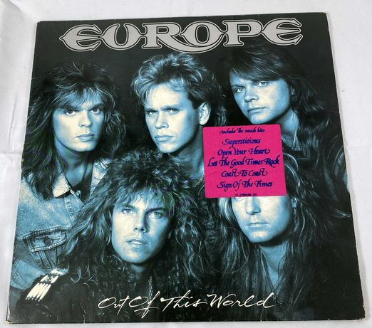 Europe Out Of This World Winyl LP