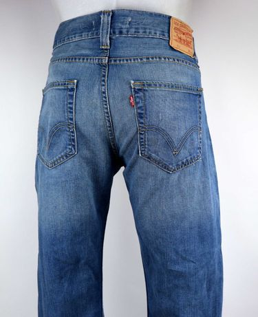Levis 512 spodnie jeansy W36 L32 pas 2 x 48 cm