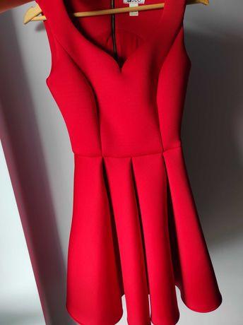Czerwona sukienka vubu