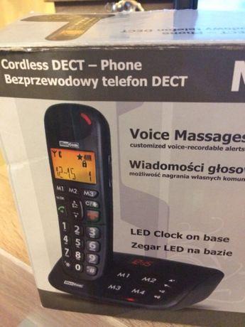 Telefon bezprzewodowy.