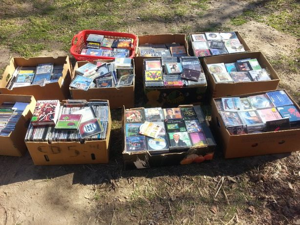 płyty CD ok 1400 szt