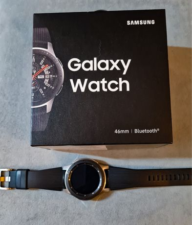 Smartwatch Galaxy Watch 46mm / Silver SM-R800 na gwarancji