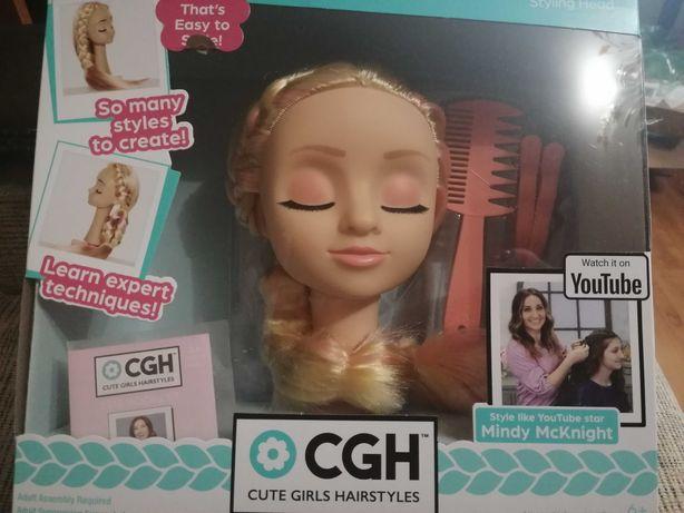 Детский манекен-голова для причёсок