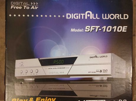 Recetor SAT   DIGITALL WORLD  Model:  SFT 1010E
