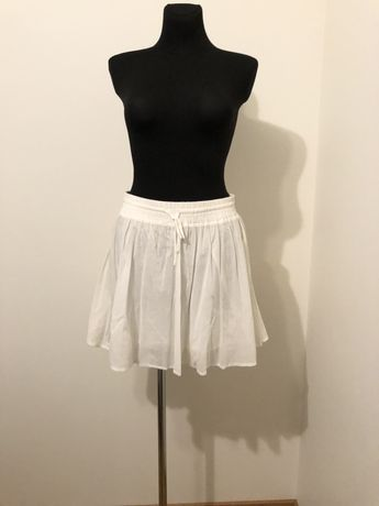 Biała spódnica H&M r. L