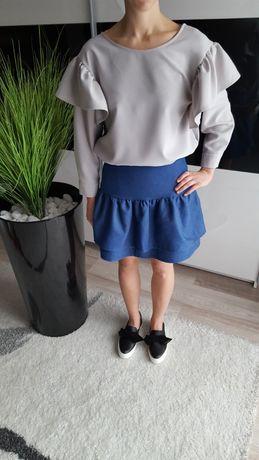 Spódnica a'la jeans rozmiar uniwersalny