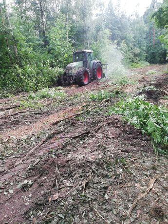Mulczer leśny wycinka drzew karczowanie oczyszczanie działek koszenie